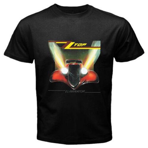 New ZZ TOP Eliminator Classic Retro Rock Band Men/'s Black T-Shirt Size S to 3XL