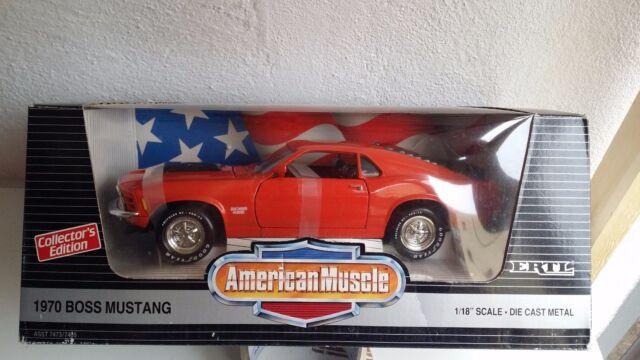Ford Mustang Boss 1970 Ertl 1:18