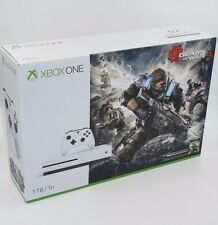 Microsoft Xbox One S Gears of War 4 Bundle 1TB White Console