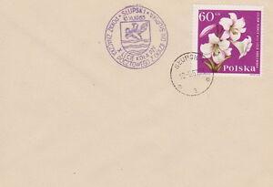 Poland postmark SLUPSK - philatelic exhibition days crest (violet !!) - Bystra Slaska, Polska - Poland postmark SLUPSK - philatelic exhibition days crest (violet !!) - Bystra Slaska, Polska