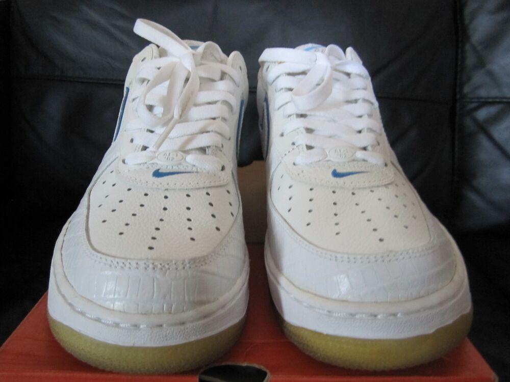 Nike D.S 2005 Air Force 1 Lézard édition limitée Brit taille 8/U.S.A 9.-