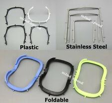 1piece Dental Rubber Dam Sheet Frames Brackets Light Plastic Foldable Ss Frame