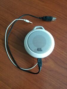 JBL Micro II Ultra-Portable Multimedia Speaker White -Wired