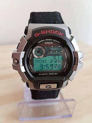Casio G-Shock Retro watch (Velcro strap,DataBank,Day countdown,Dual Time)