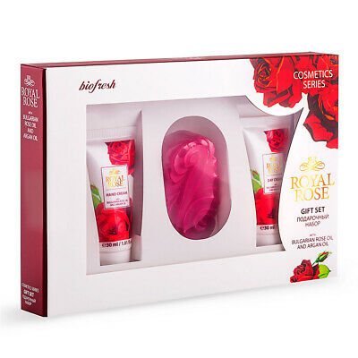 SET for MEN Royal Rose Hydrating Cream, Hand Cream, Aftershave