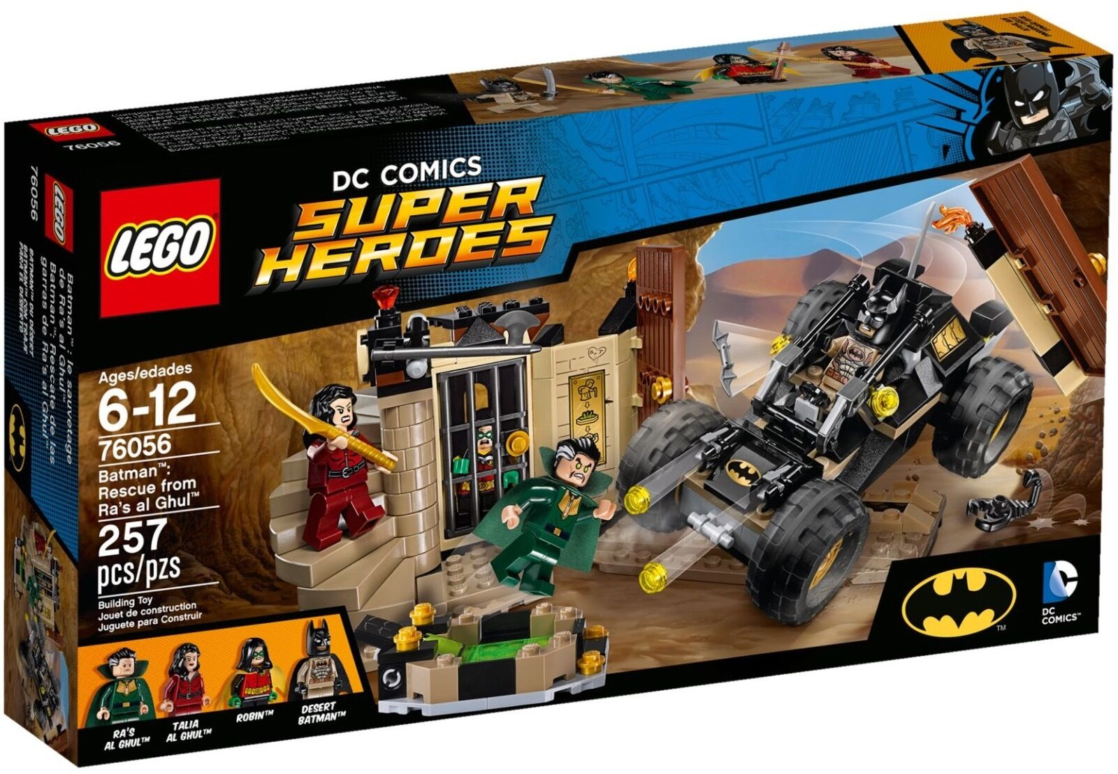 LEGO DC Comics Super Heroes 76056 - Batman Rescue from Ra's al Ghul   NEW
