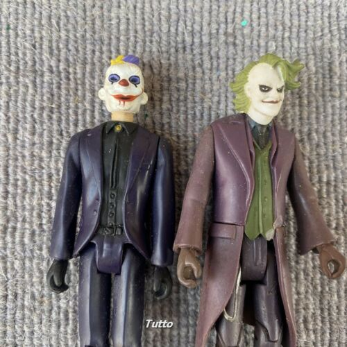 2X DC Comics Dark Knight 3.75/'/' The Joker Action Figure Toys Gift Ultra Rare