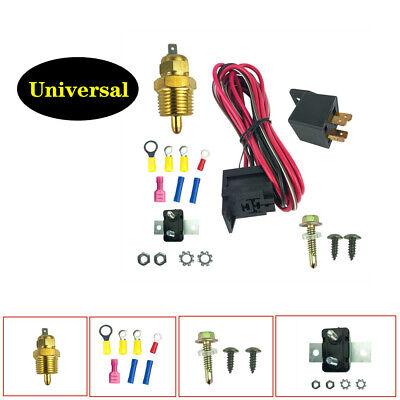 sbc thermostat wiring car electric fan wiring install kit thermostat 50 amp relay 185  car electric fan wiring install kit