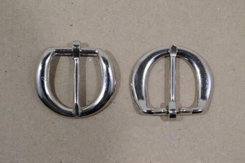 """5//8/"""" Nickel Plated Pack of 24 F466 Buckle Heel"""