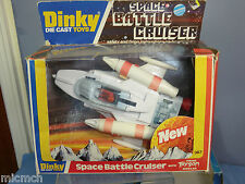 DINKY TOYS MODEL No.367 SPACE BATTLE CRUISER ( clear plastic canopy)  MIB