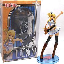 "Anime FAIRY TAIL Lucy Heartfilia 8"" Figure PVC Toys Manga Figurine in Box Gifts"