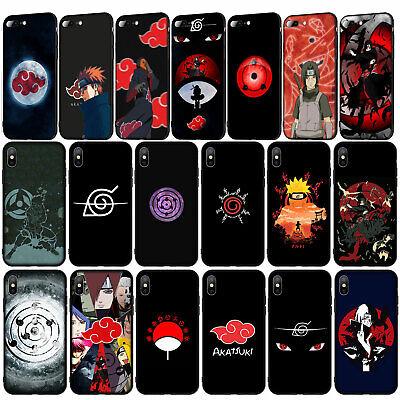 coque iphone 12 naruto akatsuki