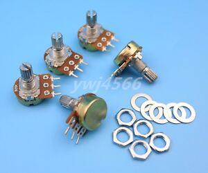10Pcs B100K 100K Ohm Linear Taper MINI Potentiometer Pot 20mm 3Pin