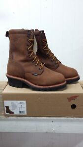 af24d1a9396 Details about Red Wing Shoes Men's Loggermax 9-Inch Logger Boot Style #4417  Steel Toe