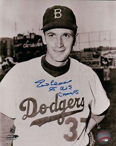 Ed-Roebuck-Signed-8X10-Vintage-Photo-Autograph-034-55-WS-Champs-034-Dodgers-Auto-COA