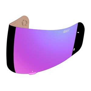 Details about ICON PROSHIELD MOTORCYCLE AIRFRAME ALLIANCE HELMET VISOR  PURPLE FREE SHIP