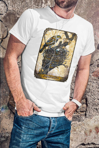 Soundgarden Hommes T-shirt Blanc Hard Rock Band tee shirt Chris Cornell Rip
