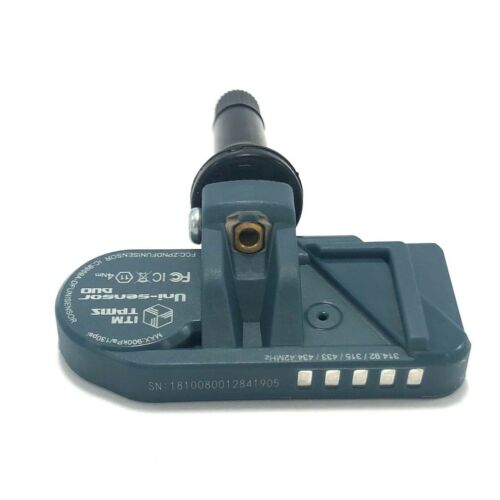 ITM TPMS Tire Pressure Sensor with Rubber Valve Stem for Acura