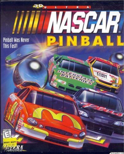 1Click Windows 10 8 7 Vista XP Install 3D ULTRA NASCAR PINBALL