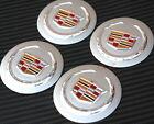 4x Cadillac Wheel Center Hub Caps Emblem Badge Decal Symbol Sticker Sport New