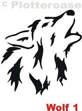 Wolf 1,Schäferhund,Hunde,Auto,Aufkleber,Hundeaufkleber,Wandtattoo,Dog Stickers