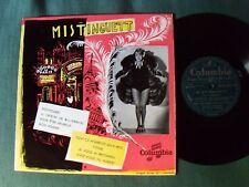 """MISTINGUETT """"Pot-pourri""""  25 cm 10"""" LP 1957 French pressing COLUMBIA FS 1011"""