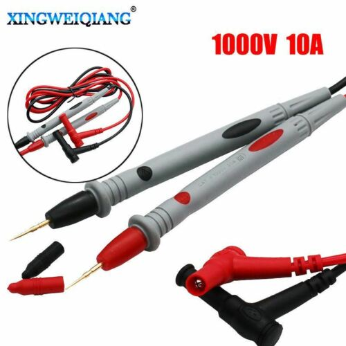 2pcs//set Digital Multimeter Test Leads 1000V 10A Probe Cable for IC P