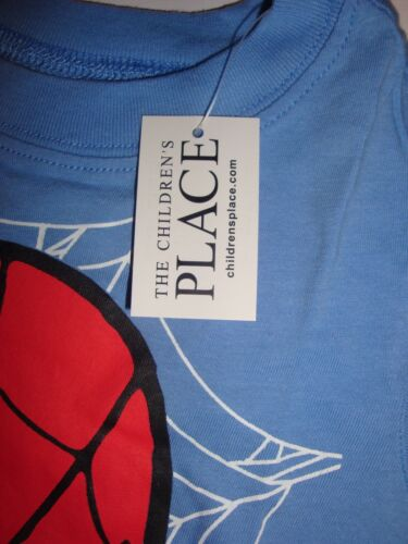 Children/'s Place Short Sleeve Spiderman T-Shirt ~ Pick Your Size ~ NWT MSRP $16