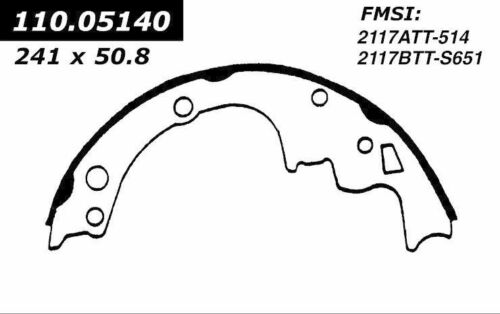 BRAND NEW FDP REAR BRAKE SHOES 514R FITS VEHICLES LISTED ON CHART