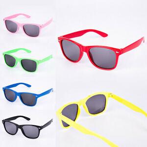 Children/'s Boys Girls Kids Sunglasses Shades Bright Lenses UV400 Protection
