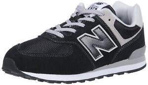 New-Balance-574v2-Core-Lace-Sneaker-Unisex-Bambini-GC574GK-SCARPA-JR-BLK