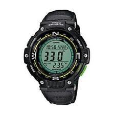 Casio Sgw100b-3a2 Smart Watch - Wrist - Altimeter, Barometer, Digital Compass,
