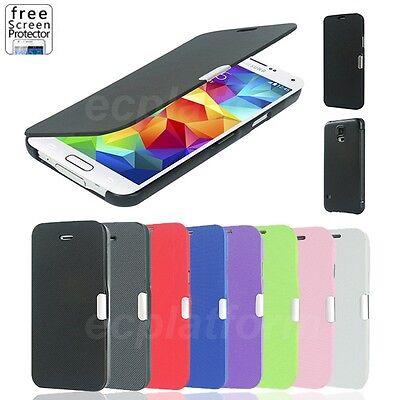 Handy Tasche für Samsung Galaxy Flip Slim Case Schutz Hülle Cover Schale Wallet