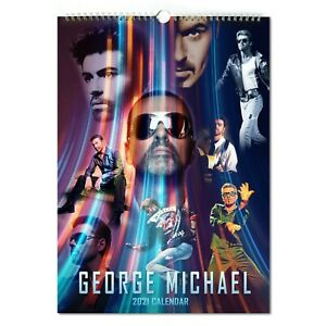 George Michael 2021 A3 Poster Calendar 15/% OFF MULTI ORDERS!