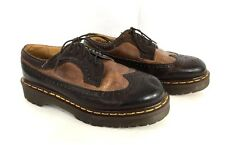Dr Doc Martens 3989/34 England Wing Tip Casual Oxfords Men Size 6 UK / 7 US