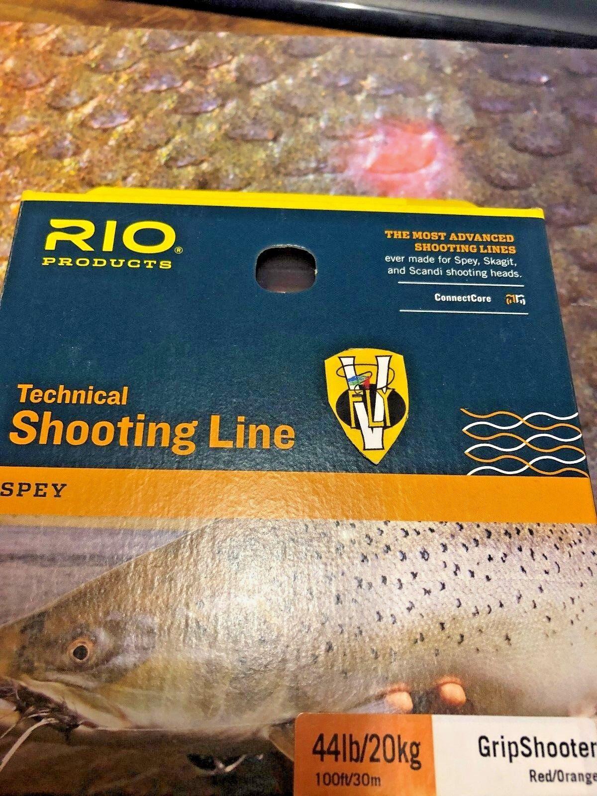 RIO SPEY TECNICO SERIE gripshooter testa di ripresa in esecuzione linea pre in loop