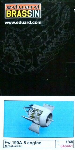 Eduard BRASSIN 1:48 FW 190a-8 Engine Upgrade (für Eduard Kits) Model Kit