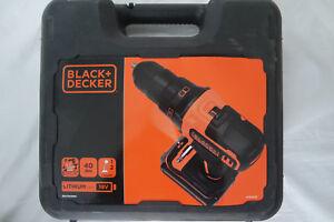black decker bdcdd186k 18v 2 gang akku bohrschrauber. Black Bedroom Furniture Sets. Home Design Ideas