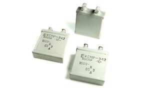 MBGO-2 PIO Capacitors paper in oil !!Lot of 1pcs. 2uF 400V 10/%
