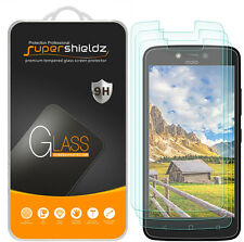 3X Supershieldz Motorola Moto C Plus Tempered Glass Screen Protector Saver