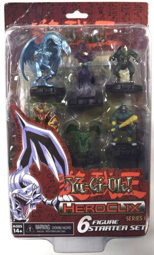 Yu-Gi-Oh! HeroClix Yugioh Series 1 6-Figure Starter Set
