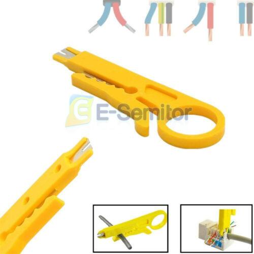 4PCS Wire Stripper Cutter Crimping Pliers Crimper Cutter F CAT-5//5e//6 Data Cable