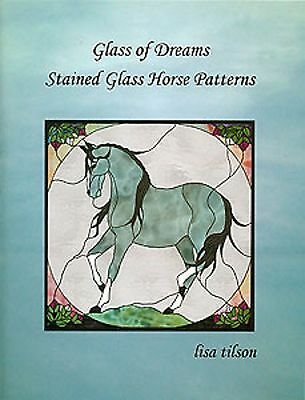 Krachtig Stained Glass Pattern Book - Glass Of Dreams Stained Glass Horse Patterns Snelle Kleur
