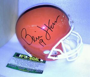 ffbcd193 Details about Cleveland Browns Bernie Kosar Signed Full Size Helmet with COA