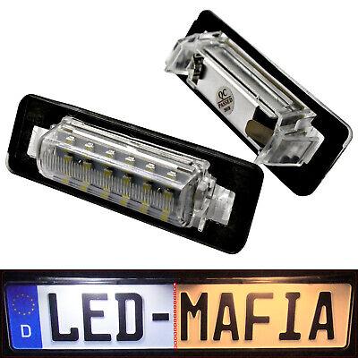 2x LED SMD iluminación de la matrícula mercedes benz clk cabriolet a209//1103-4d