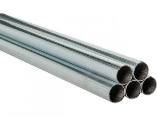 Stahlrohr verzinkt geschw. Gewinderohr S195T 10255 EN10240-A1-0,5-2,0m