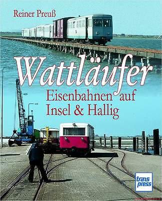 Libro Specializzato Watt Alfiere, Ferrovie Su Isola E Hallig, Molte Immagini, Nuovo E Ovp-mostra Il Titolo Originale