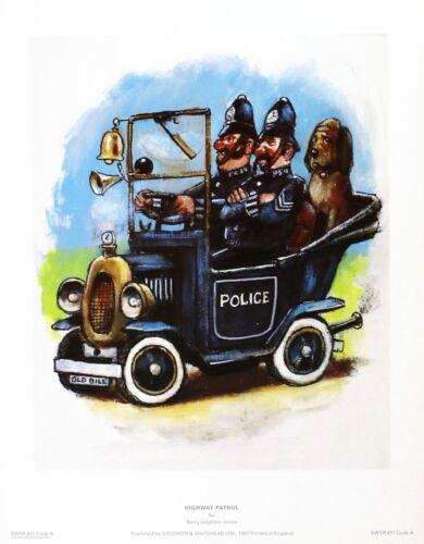 "Barry Leighton-Jones /""Highway Patrol/"" police NEW PRINT SIZE:27cm x 35cm  RARE"
