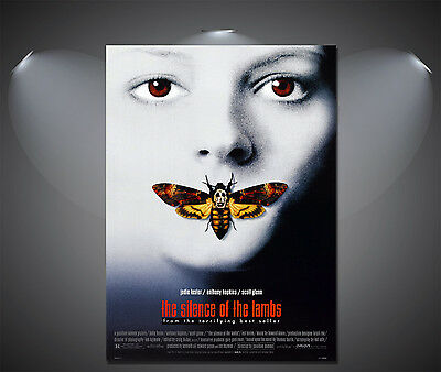 The Silence of the Lambs Vintage Movie Poster - A1, A2, A3, A4 sizes