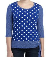 Onque Casual 2x Blue Top